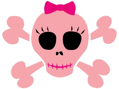 "Anyway, this girl, she had a tattoo of a ""cute"" skull with a pink bow."