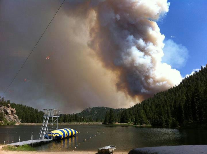 Fire Near Eagle Lake