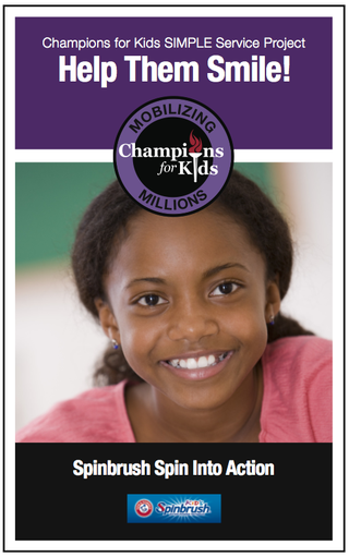 Champions for Kids Simple Service Project