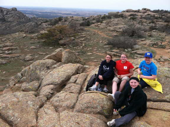 On Top of Elk Mountain