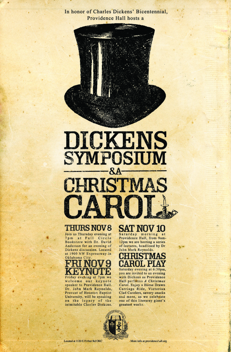 Dickens Poster Small